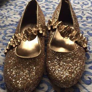 Michael Kors (brand) shoes. Glittery Gold.